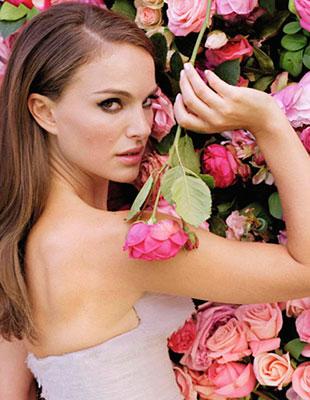 Натали Портман для парфюмов Miss Dior