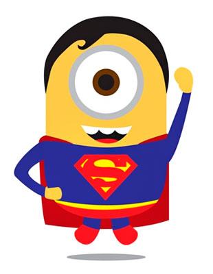 Миньоны-супергерои