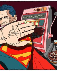 <p>Бывалый Супермен</p>