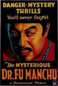 Постер The Mysterious Dr. Fu Manchu