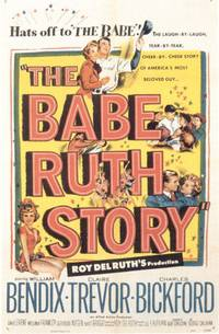 Постер The Babe Ruth Story