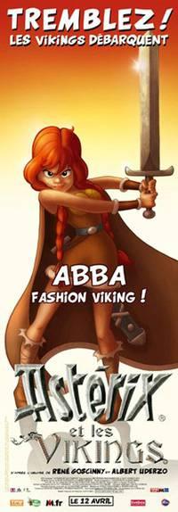 Постер Астерикс и викинги