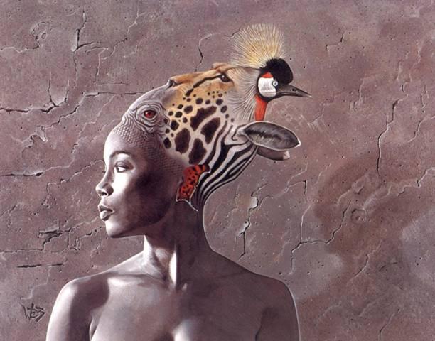 """Иллюстрация из книги """"Дикое племя"""""""