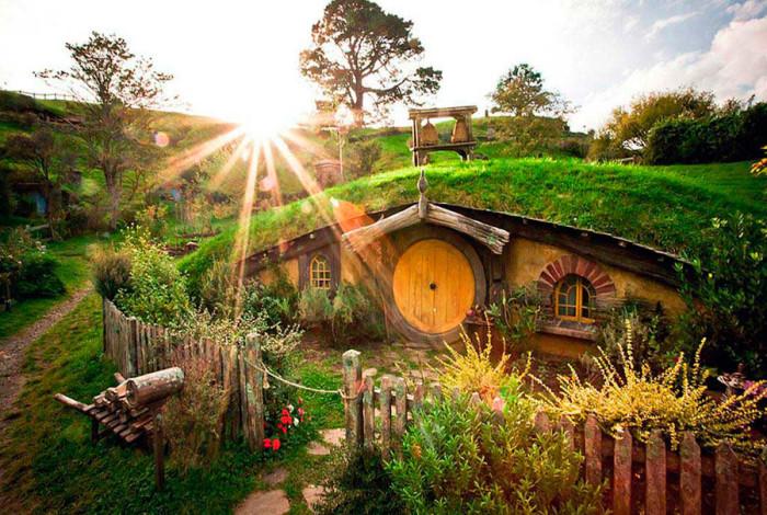 Деревня хоббитов в Новой Зеландии