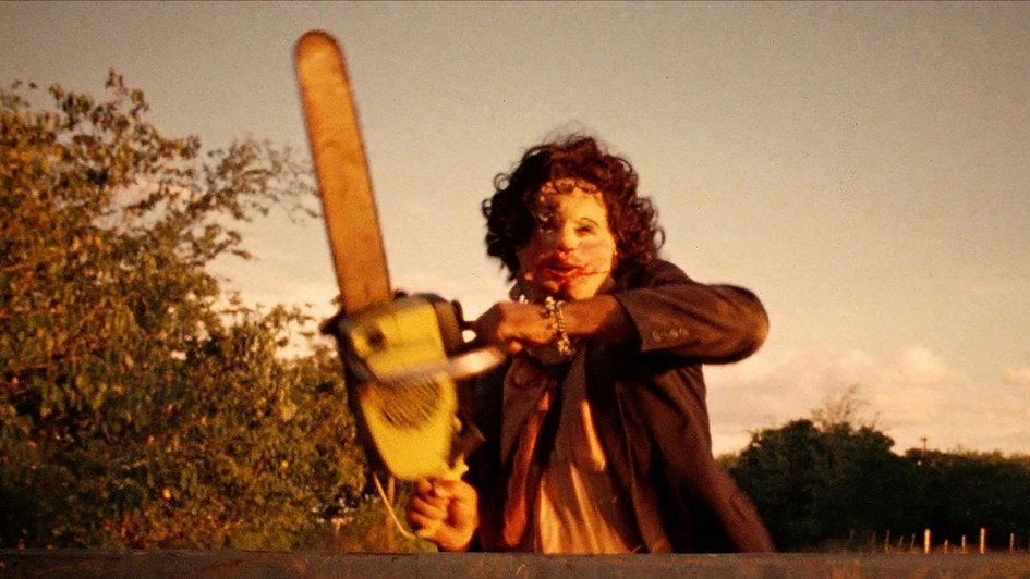 """Кадр из фильма """"Техасская резня бензопилой"""" 1974"""