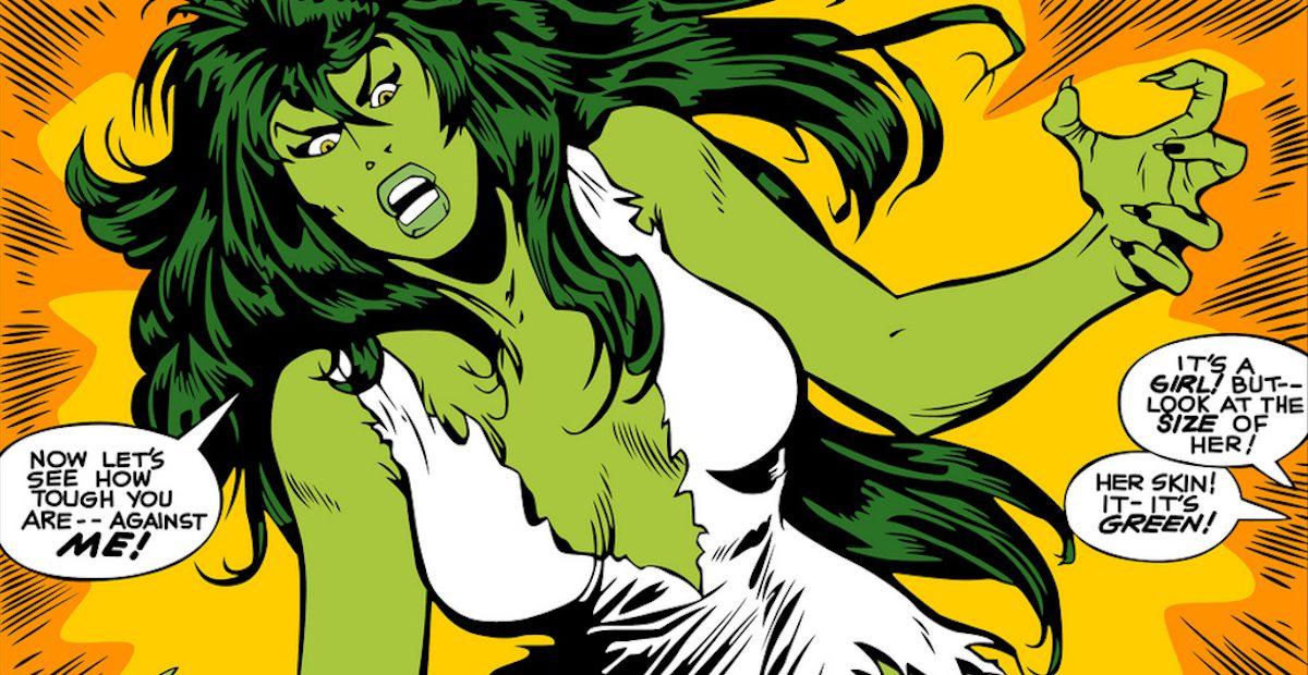 Женщина-Халк на страницах комиксов