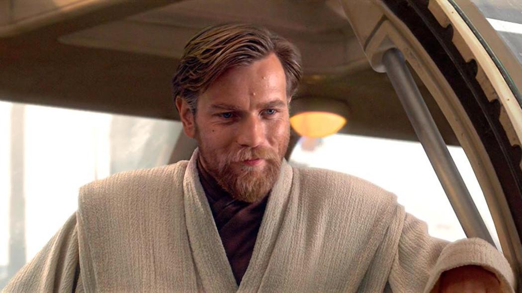 Юэн МакГрегор в образе Оби-Вана Кеноби