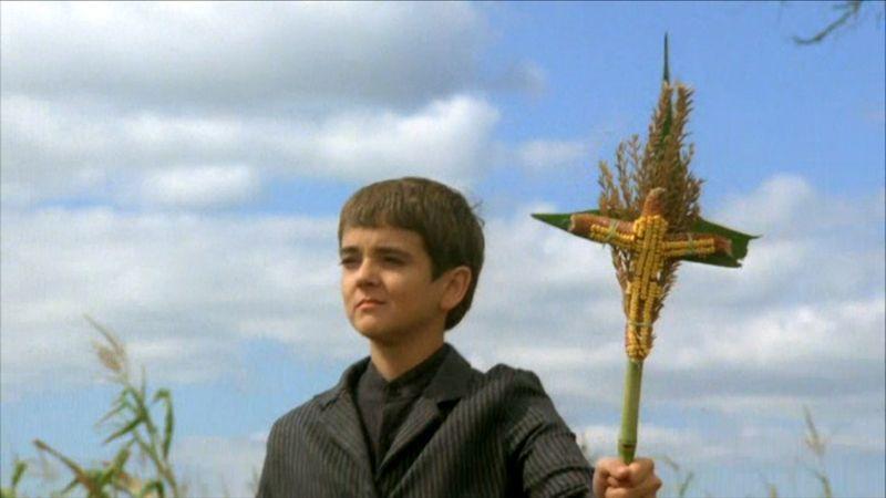 """Кадр из фильма """"Дети кукурузы"""" 1984"""