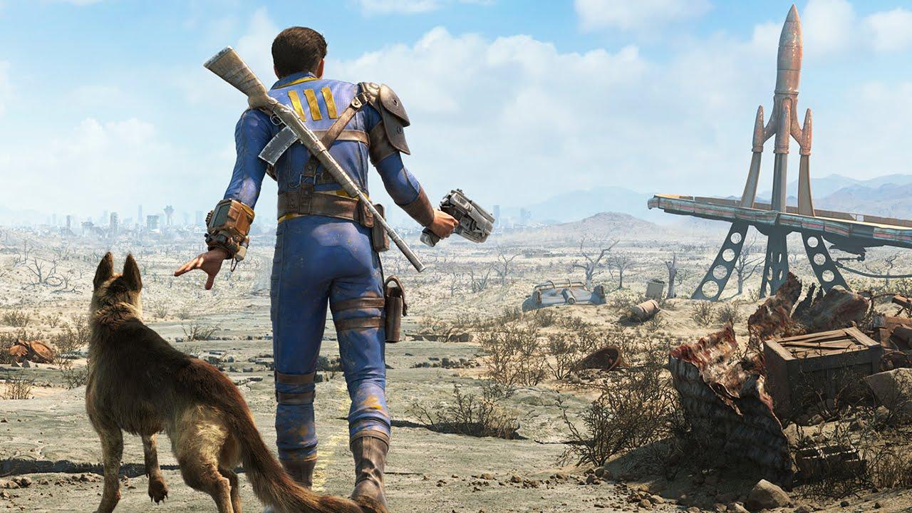 Кадр из видеоигры Fallout