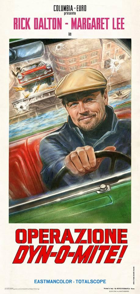 «Однажды в Голливуде»: пара стильных постеров к фильмам в фильме