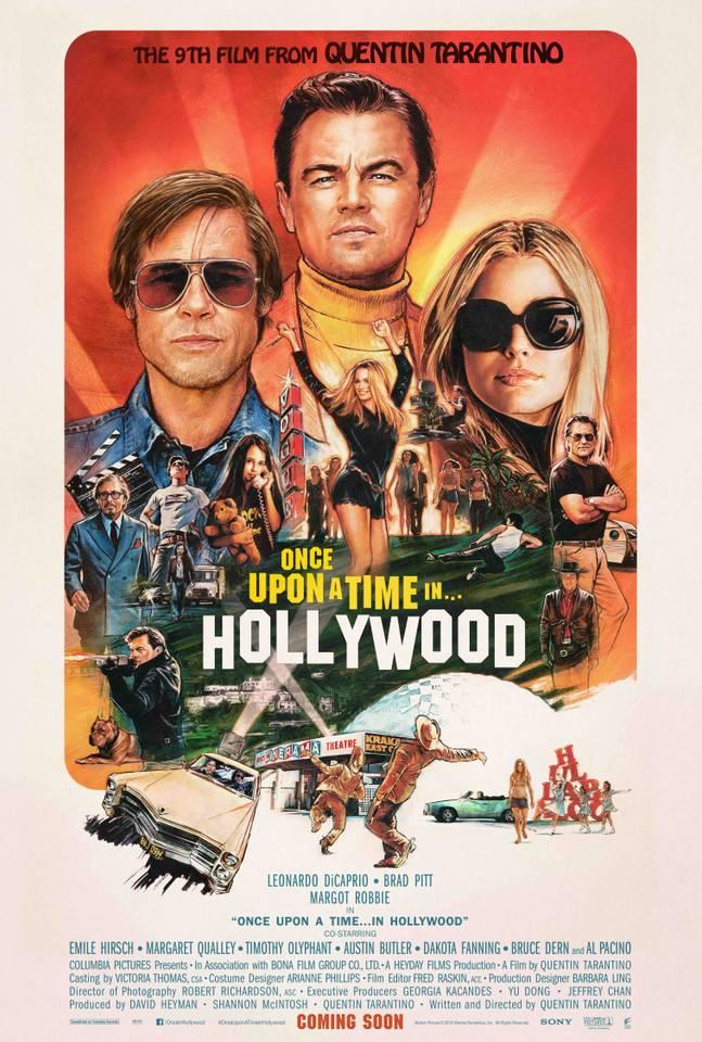 «Однажды в Голливуде»: новый постер