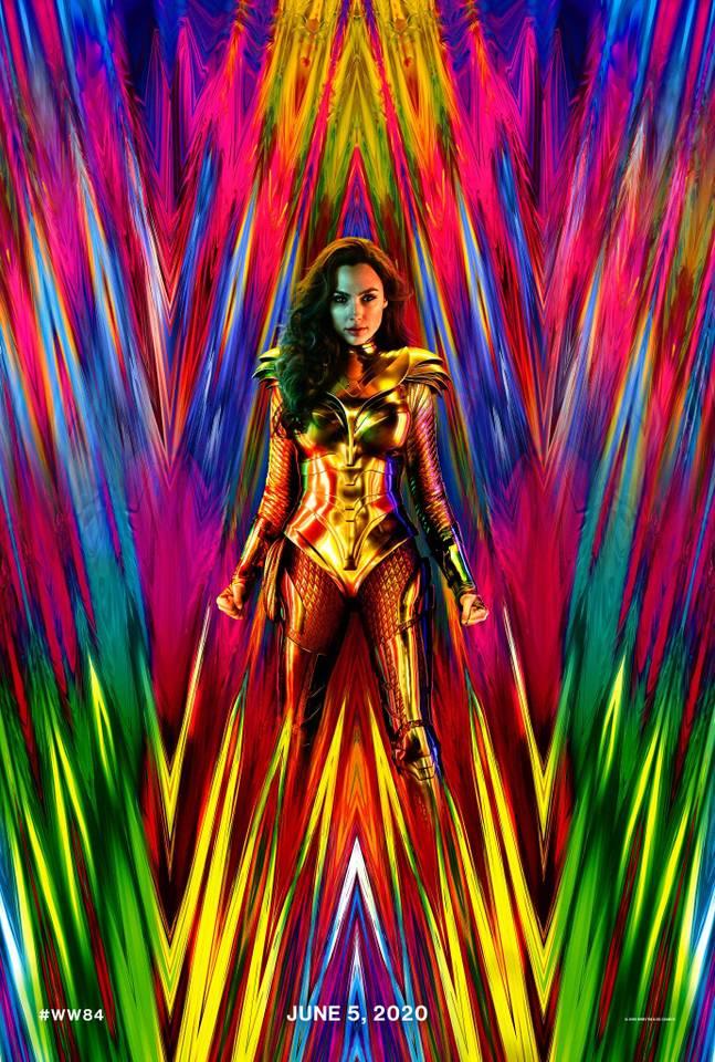 Опубликован первый постер продолжения «Чудо-женщины»